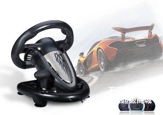 【格倫雅】^居家無憂】萊仕達雷馳V3II 極品飛車電腦遊戲方向盤 仿真模擬駕駛 賽車學