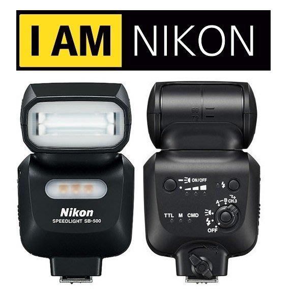 ((名揚數位)) NIKON Speedlight SB-500 SB500 GN24 LED燈 國祥公司貨 一年保固