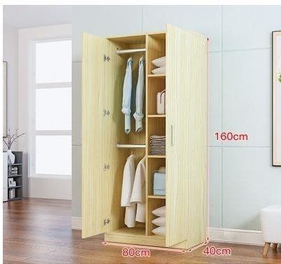 (全館免運)衣櫃實木簡約現代經濟型衣櫃...