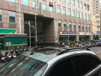 華峰 INFINITI - FX35 專用 美規原廠型 鋁合金車頂架 行李架 橫桿 (銀色&黑色) $3,500