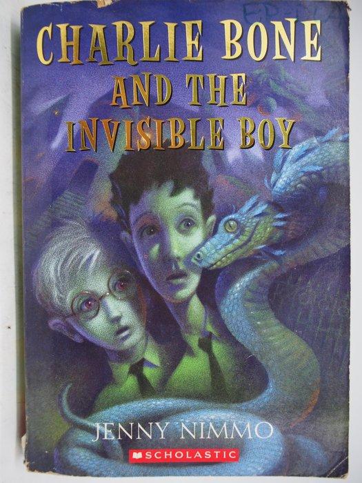 【月界】Charlie Bone and the Invisible Boy_Jenny Nimmo 〖外文小說〗CHQ