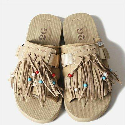 SUICOKE 2G HOTO-SCab Sandals 余文樂聯名款日系夏季情侶拖鞋
