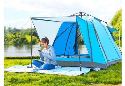 戶外帳篷 露營 野營 用品 三至四人用 快速張開 帳篷