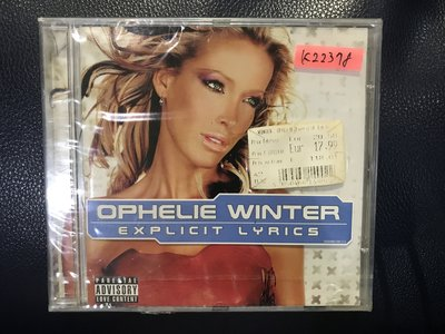 *真音樂*OPHELIE WINTER / EXPLICIT LYRICS 全新 K22378