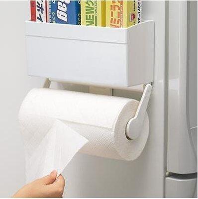 【優上】日本廚房用紙架保鮮膜收納架餐巾架冰箱捲紙捲筒紙架