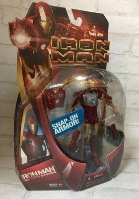外B :2008 IRON MAN PROTOTYPE 鋼鐵人 SNAP ON ARMOR 天富玩具店