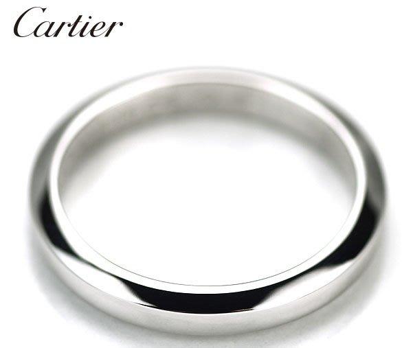 *保證真貨~知名品牌Cartier卡地亞-BALLERINE經典款婚戒 PT950鉑金戒 歐洲圍49號~超低價起標
