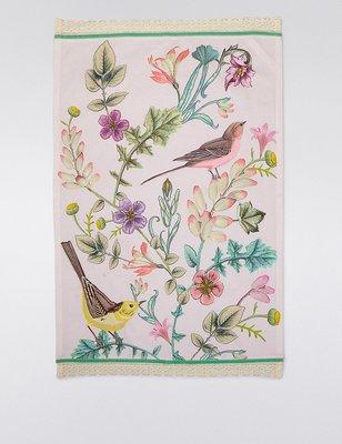 檸檬黃 雜貨  Spring Bloom Tea Towel  $699 茶巾