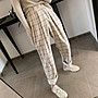 *Herstory*。格紋褲 日本 韓國 度假 短褲 洋...