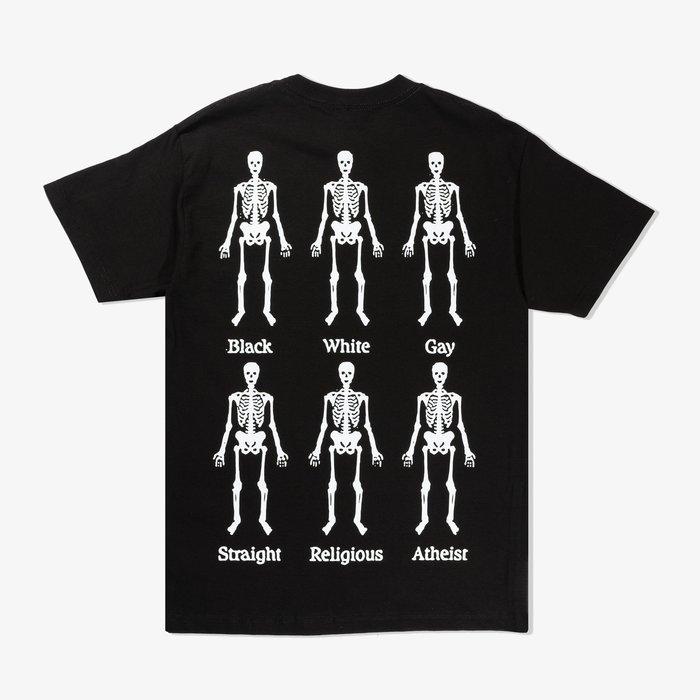 PLEASURES BONES T-SHIRT 短袖 黑色 洛杉磯品牌