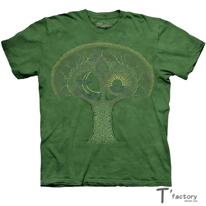 【線上體育】The Mountain 短袖T恤 S號 奇特樹