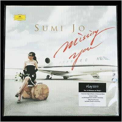 曹秀美 JO SUMI Missing You 180g 2 LP 黑膠 訂
