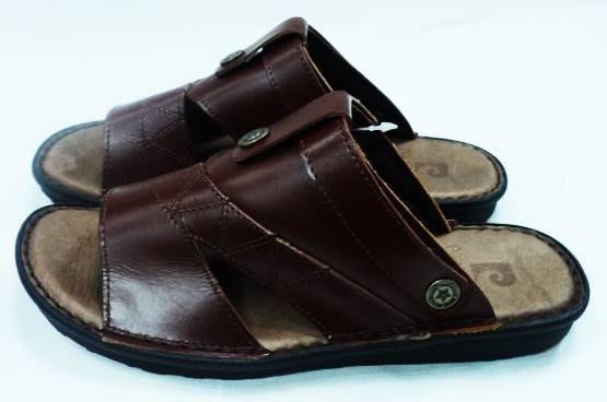 美迪~皮爾卡登(Pierre cardin)-PR5505純皮拖鞋+涼鞋兩用鞋~台灣製~咖色特價款