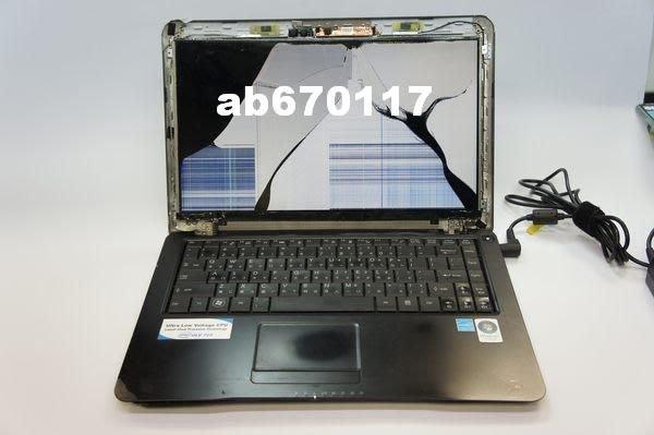 台北光華現場維修 ((專業面板維修))TOSHIBA  portege Z30-A 螢幕破裂 液晶螢幕故障 反白 摔壞