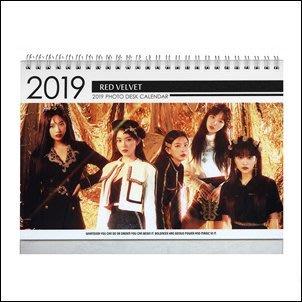 【 特價 】Red Velvet 韓國탁상용 달력 正韓進口 2019 ~ 2020 直立式照片桌曆台曆