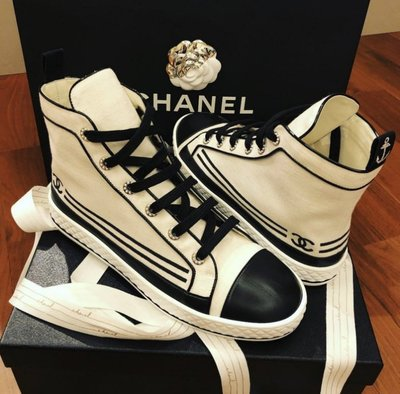 Chanel sneakers CC ...