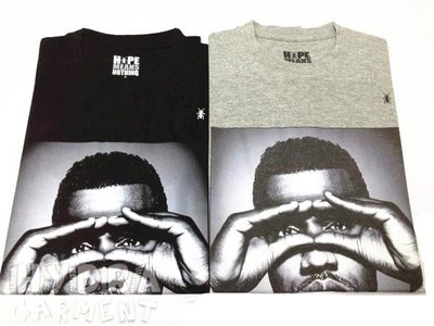 【HYDRA】法國直送 HMN Hype Means Nothing Kanye west YEEZY 2 肯伊 遮眼 Tee SZ : S / M / L