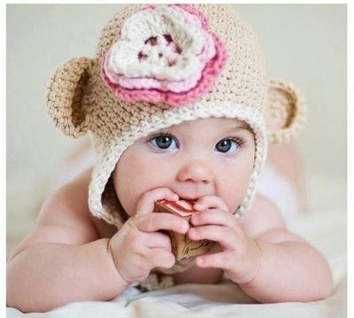 可愛造型羊頭帽 拍照必備/寶寶帽 ki...