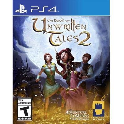 (現貨全新) PS4 未傳之書 2 英文美版 The Book of Unwritten Tales 2