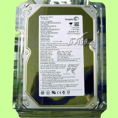 5Cgo【權宇】一標兩顆80G硬碟Seagate ST3802110A 3.5吋7.2K 80GB PATA/IDE含稅