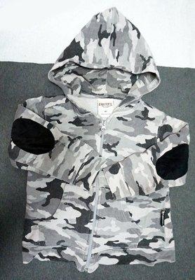 超高級童裝  美式風陸軍裝 兒童連帽棉外套 手肘防摩設計 原美國購得 CHARTER'S 正品   媽媽放心寶貝穿得安心