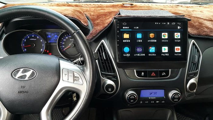 Hyundai  IX35 10~15年 專用10吋~安卓上網主機*導航*藍芽*YouTube*網路電視*線上音樂*追劇
