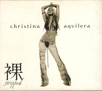 Christina Aquilera克莉絲汀- 裸STRIPPED CD