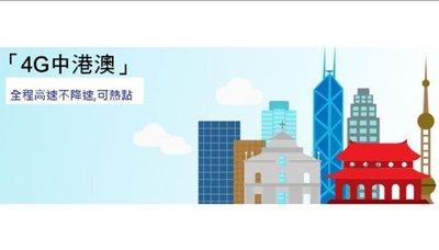 中國香港聯通8天吃到飽不降速可熱點免翻牆免VPN可LINE中國大陸 香港 澳門上網卡網路卡手機卡