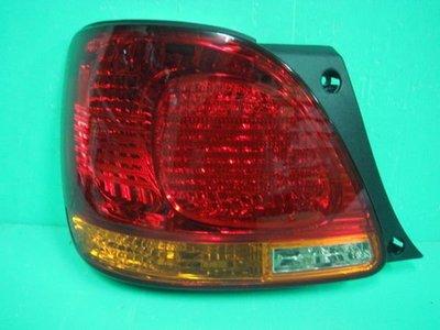 ☆小傑車燈家族☆全新高品質LEXUS GS300凌志GS-300 紅黃晶鑽尾燈一顆2000元