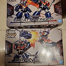 全新 SD 鐵甲萬能俠 一二號 模型 GREAT MAZINGER Z Bandai SD Cross Silhouette Mazinger Z 帝皇萬能俠