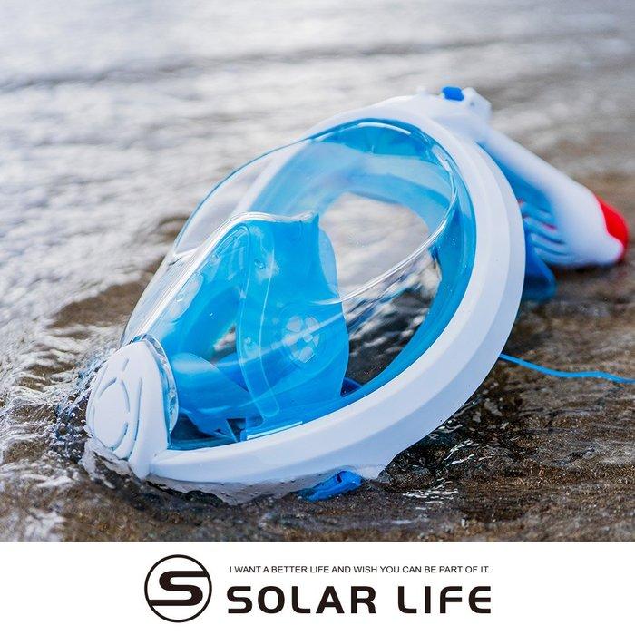 AROPEC 180度超廣角全罩式浮潛面罩 Unicorn獨角獸.全乾式浮潛面罩 全罩式潛水面鏡 摺疊潛水全面罩