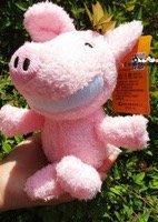 全新暴牙豬娃娃 粉紅豬娃娃 笑笑豬娃娃 豬造型娃娃 吊飾