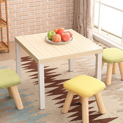 茶幾簡約現代茶幾小戶型矮桌小桌子創意咖啡桌方形組裝客廳小茶幾