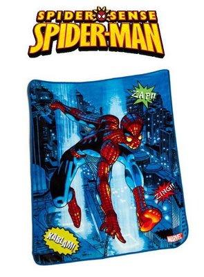 出口美國SPIDERMAN蜘蛛人ZAP!!款保暖珊瑚絨毯(152*127cm)新款上市…