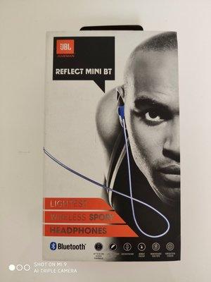 8成5新 JBL Reflect Mini BT 輕量 藍牙耳機 運動耳機 IPX4 防汗 可通話