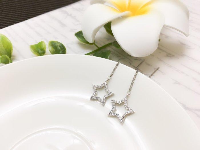 【寶寶王國】韓國晶燦造型銀針耳環  (商品編號  520-11689)