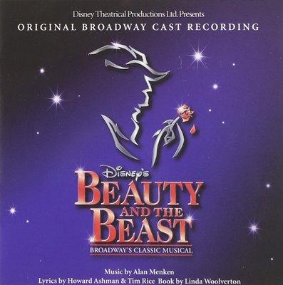 美版全新CD~迪士尼音樂劇原聲帶 美女與野獸Beauty and the Beast~百老匯原始卡司