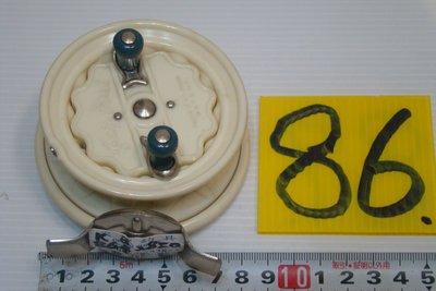 采潔日本二手外匯釣具 日本富士25  三件式組裝  前打 輪 牛車輪 日本製  二手釣具 釣竿 捲線器 編號   K86