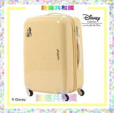 ※龍貓共和國※日本進口 迪士尼Disney《美女與野獸 貝兒Bell行李箱 登機箱58CM》[日本帶回_限量珍藏版!]