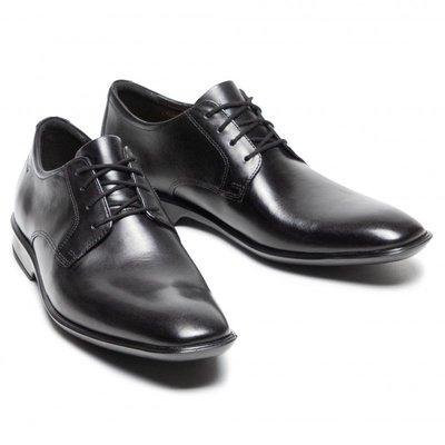 【英國代購】④ Clarks Bensley Lace Black Leather 售價4380元