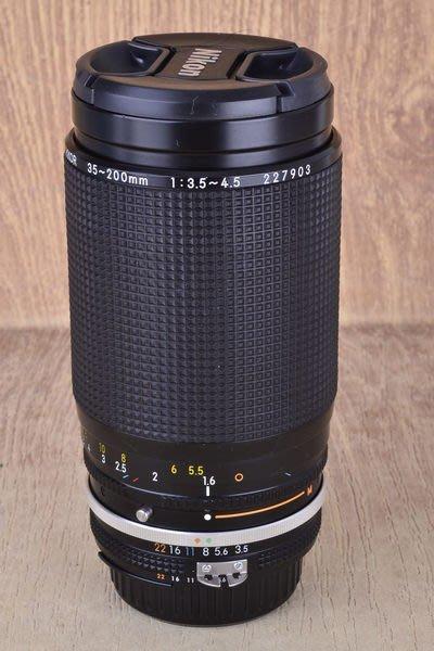 【高雄品光攝影】NIKON AIS 35-200mm F3.5-4.5 MACRO  微距 變焦 望遠 #37648J