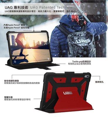 超 美國軍規 UAG iPad Pro 11吋耐衝擊保護殻-精準孔位確保操作順利無阻 2色