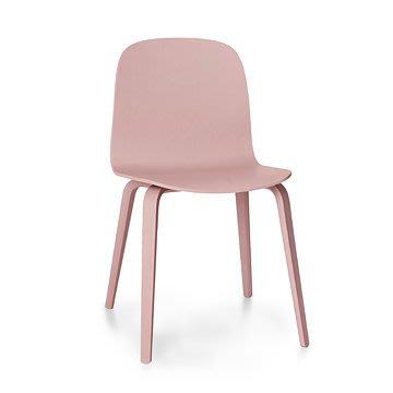 Luxury Life【預購】丹麥 Muuto Visu Chair Wooden Base 薇蘇 木質 單椅