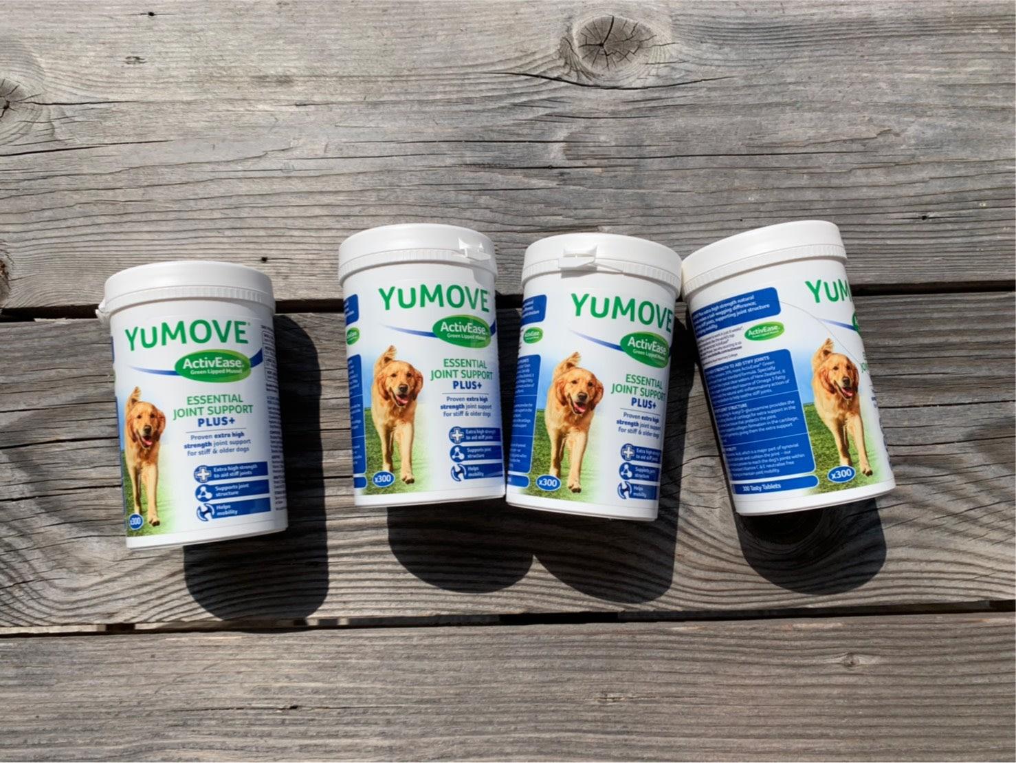 🔥 優骼服驚奇版(犬用) #300錠 YuMOVE PLUS for Dogs