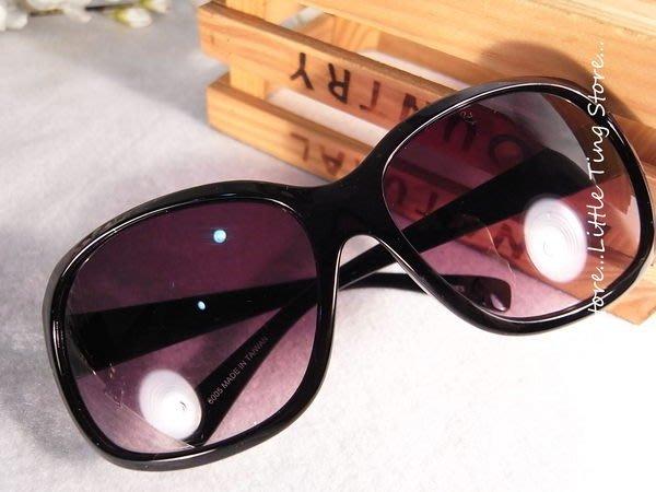 MIT台灣製造 濱崎步復古限定大方框大眼蛙黑膠框太陽眼鏡防風防曬眼鏡UV400 #6005