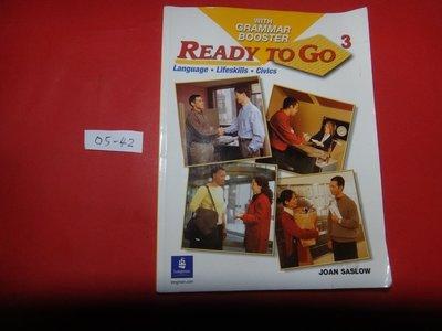 【愛悅二手書坊 05-42】Ready to Go 3      with Grammar Booster (內附光碟)