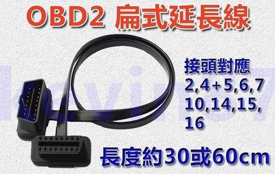 新款超薄型 OBD 延長線 適用 iobd2 obd2各式商品 elm327 等