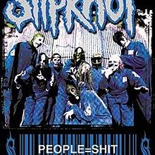 F-49 Slipknot / people = ?   絲質搖滾布旗海報  全新 70 x 100 CM