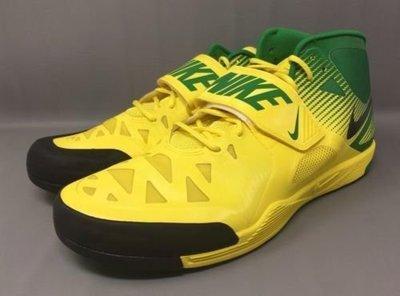 Rare Limited Oregon Ducks Nike Zoom Javelin Elite Shoes Cleats 920761-703 標槍鞋