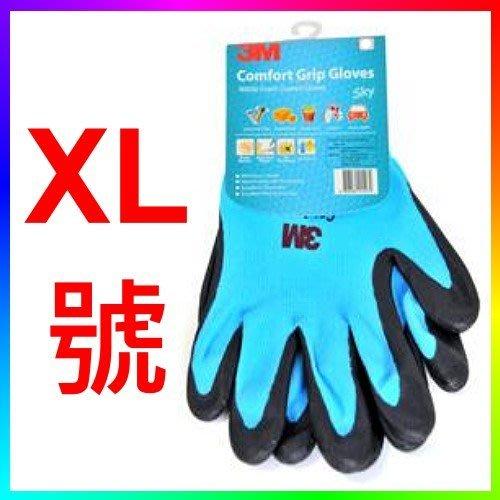 {CF舖}3M舒適型 止滑/耐磨手套-XL (3M手套 3M舒適手套 搬運手套 園藝手套 組裝零件 止滑手套 透氣性佳